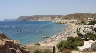 La playa de Aguamarga  podrá acoger un máximo de 368 personas.