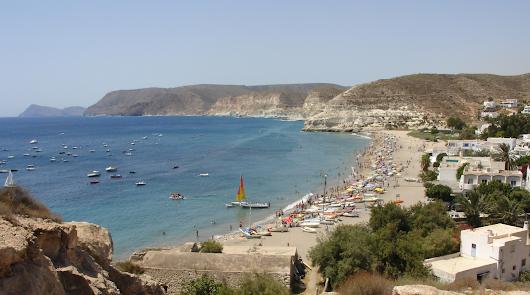 Las playas de Aguamarga, San José y Las Negras tendrán aforo máximo de bañistas