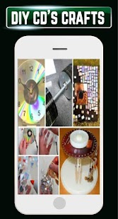 DIY Recycled CDs Craft Ideas Steps Designs Gallery - náhled