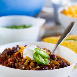 Warm You Up Beef and Bean Chili.
