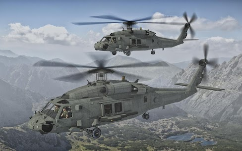 Army Helicopter Transporter Pilot Simulator 3D 2