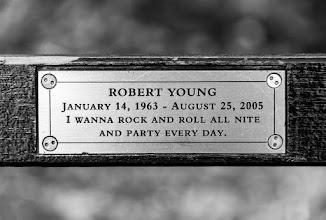Photo: I took this shot of one of the park benches in the 'Strawberry Fields' area of Central Park. Since the area is a memorial to John Lennon, I thought the sentiment on the plaque was appropriate even if the reference is to KISS and not the Beatles or John Lennon.  #BreakfastClub curated by +Gemma Costa