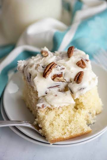 Italian Cream Cake - One of the most amazing cakes you'll ever make! - Southern Plate