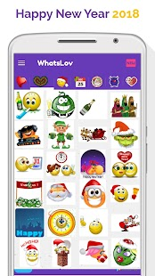 ? WhatsLov: Smileys of love, stickers and GIF - náhled