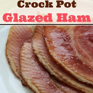 Crock Pot Spiral Sliced Glazed Ham.