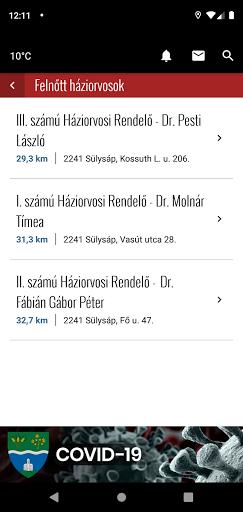 CityApp Sülysáp screenshot 4
