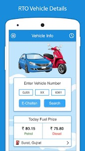 RTO Vehicle Information apk download 1