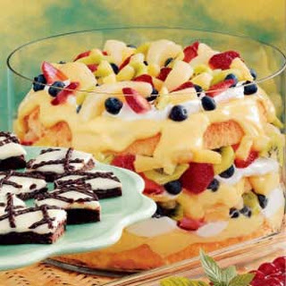 Fruity Angel Food Trifle.