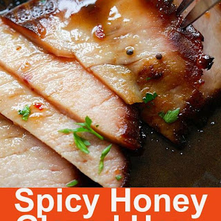 Spicy Honey-Glazed Ham