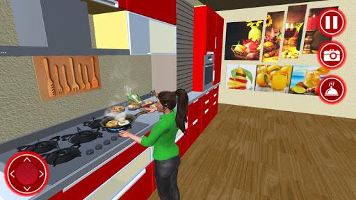 Working Mom Newspaper Girl Family Game 1.6 screenshots 4