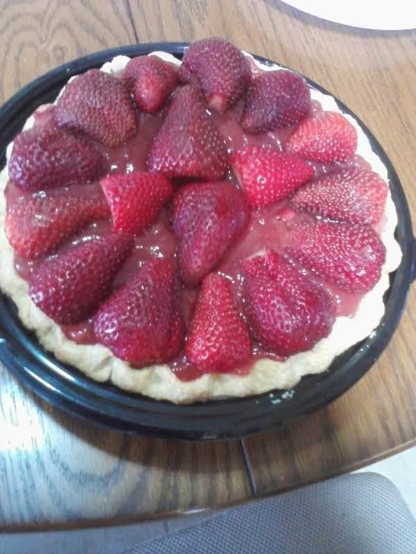 Naked Strawberry Pie
