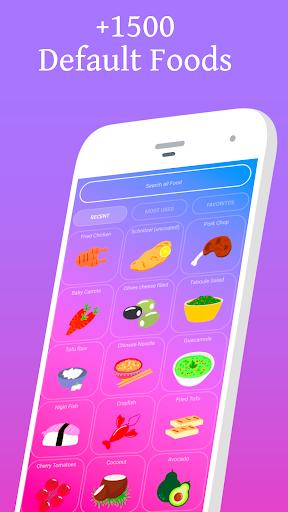Calorie Counter - EasyFit free 3.5 screenshots 2