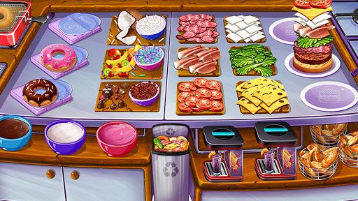 Code Triche Cuisine Urbaine 🍔 Jeux De Restaurant apk mod screenshots 1