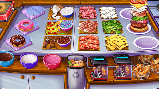 Cooking Urban Food - Fast Restaurant Games apkmr screenshots 1