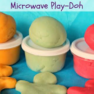 Microwave Kool-Aid Play-Doh