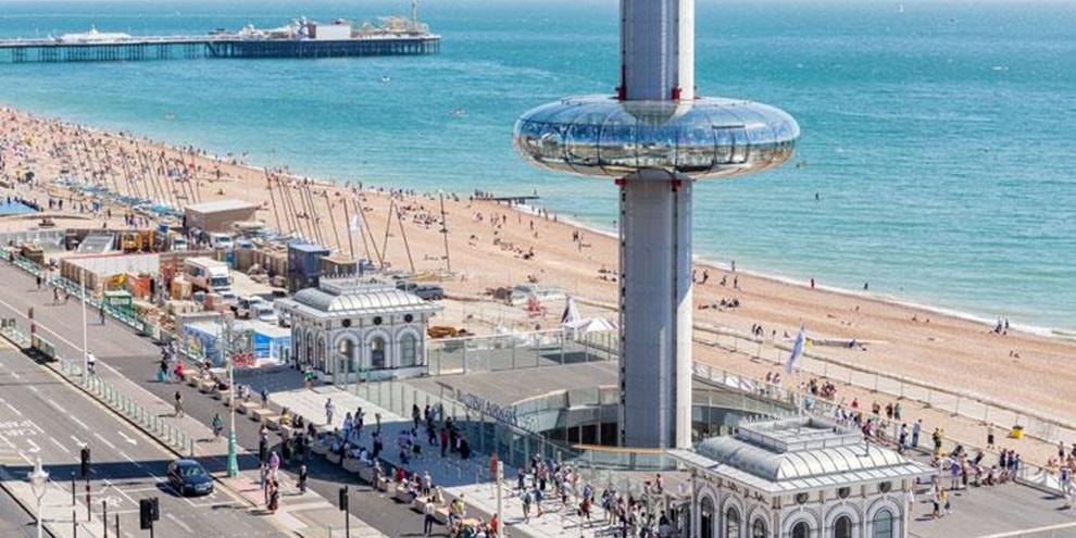 Brighton e Hove (Fonte: Visit Brighton/Reprodução)