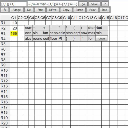 webxl spreadsheet for PC