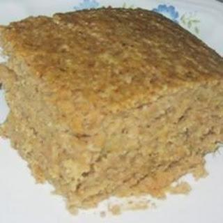 Pumpkin Polenta Cake