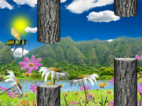 Скриншот Flappy Hornet