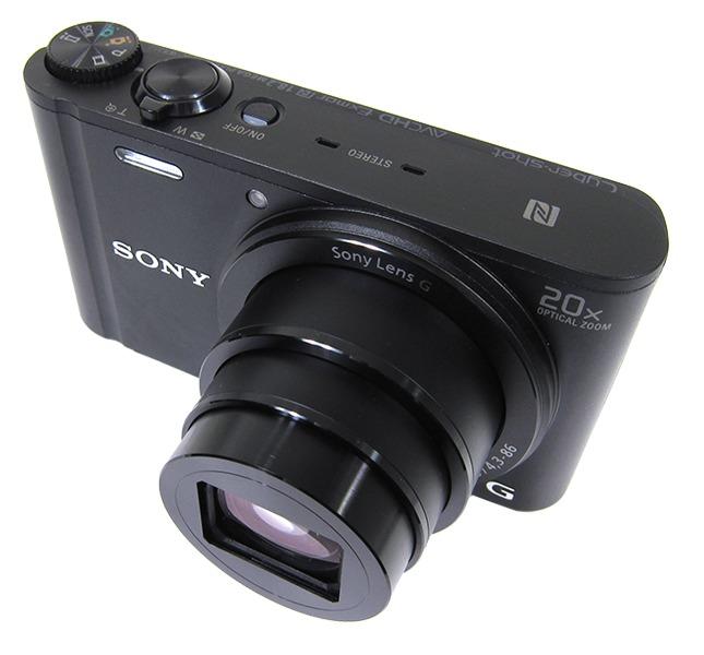 Vẻ ngoài chắc chắn của Sony WX350