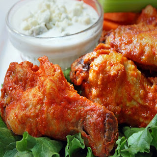 Oven Baked Buffalo Chicken Wings