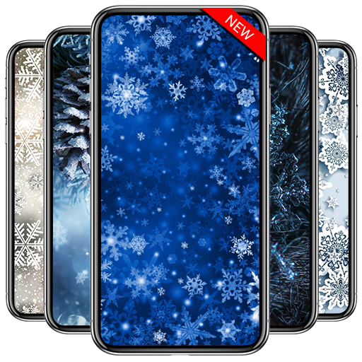 Weihnachtsbilder 3d.Snowflake Wallpaper Hd 2019 Snowflake Wallpapers Apps Bei Google Play