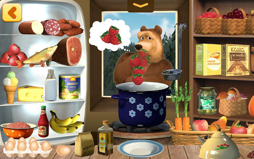 Masha and Bear: Cooking Dash  screenshots 14
