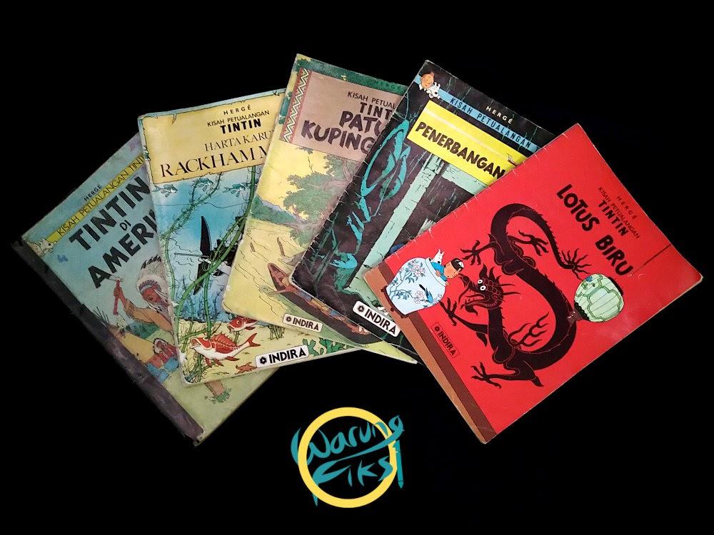 Komik Tintin yang Terus Berpetualang