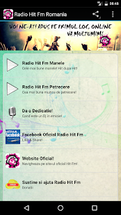 Radio Hit Fm Manele Romania- screenshot thumbnail