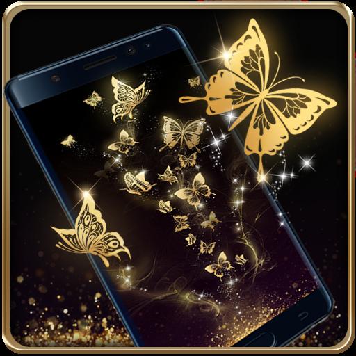 Baroque Gilt Butterfly HD
