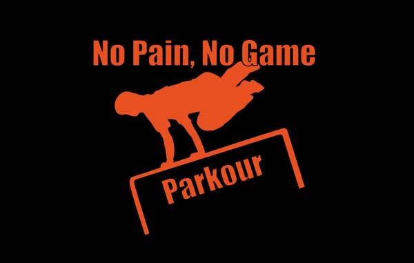 Parkour logo wallpaper