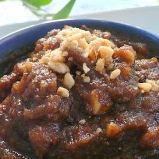 Tamarind and Date Chutney Cake