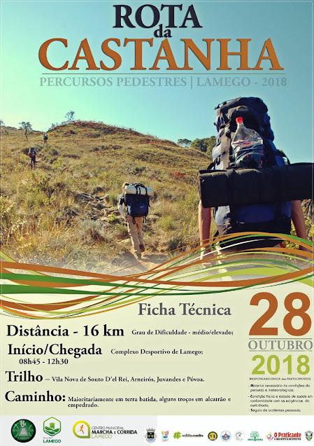 Programa – Rota da Castanha – Lamego - 28 de outubro de 2018