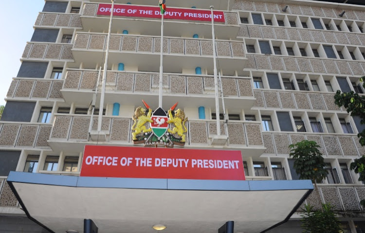 Deputy President William Ruto's office