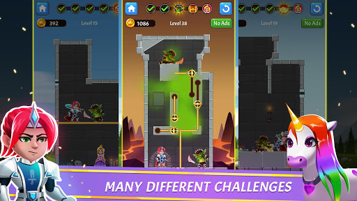 Hero Rescue - Pin Puzzle - Pull the Pin 1.1.11 screenshots 1