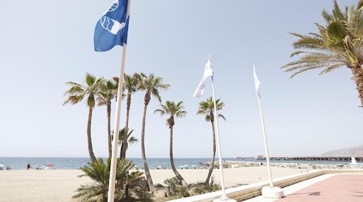 Estas son las playas de Almería capital con bandera azul
