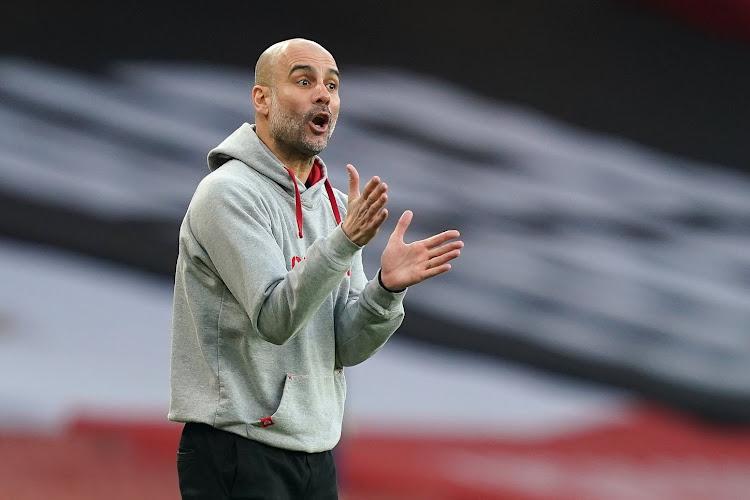 """Guardiola over de wedstrijd tegen Dortmund: """"Als ik de spelers niet vertrouw, hebben we een groot probleem"""""""