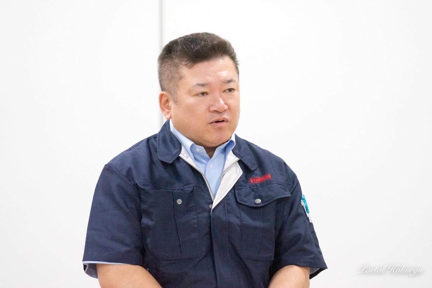 (株)キョクイチ・岡本賢和 執行役員(青果部門担当)