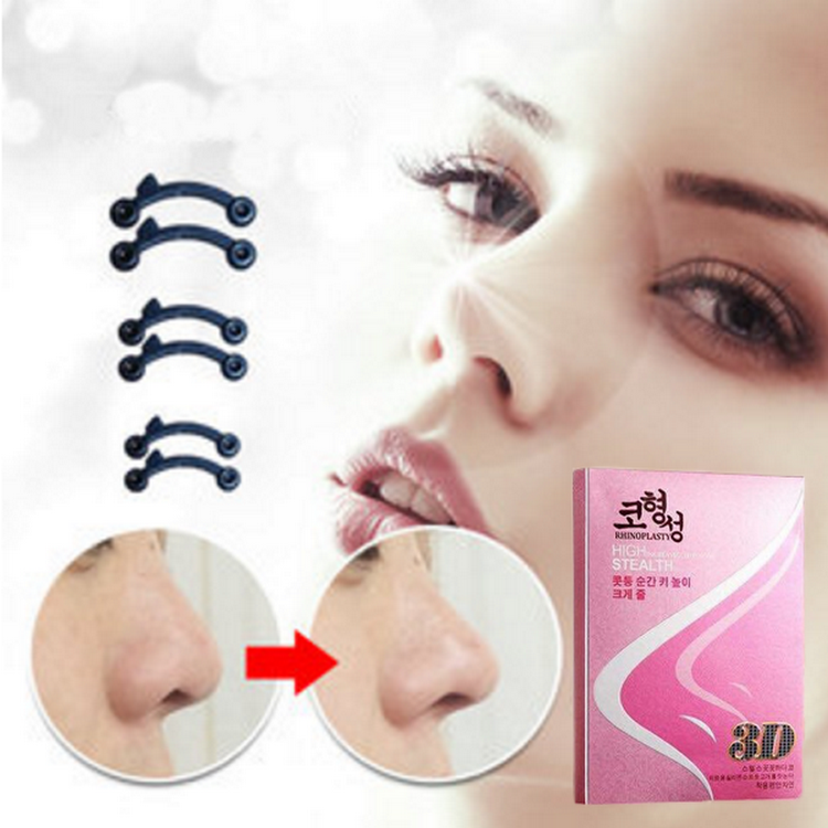 Nose shaping secret nose uplift magic shaper nose job without surgery (6 pcs a set, all sizes)