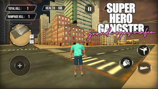 Super Gangster Hero : Grand Vegas Mafia Crime 1.0 screenshots 5
