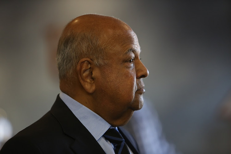 Public Enterprises Minister Pravin Gordhan. File Photo.