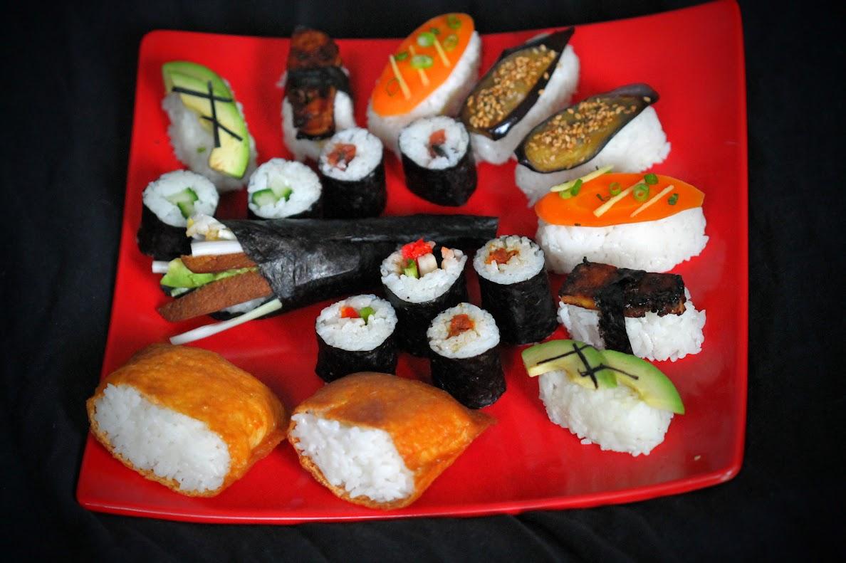 vegane sushi anregungen veganit ten. Black Bedroom Furniture Sets. Home Design Ideas