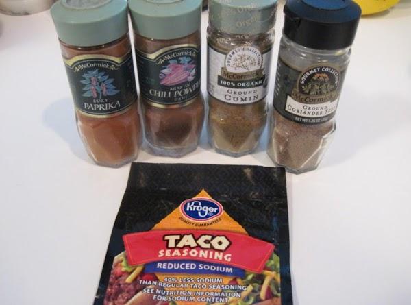 Add all the dry seasonings.