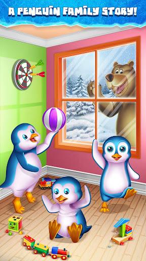 Penguin Snow Surfing  captures d'écran 1