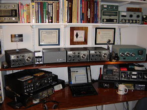 Photo: 2004 - Installed small equipment shelves to get things more organized.  Added SM-220 monitor, DX-60B/HG-10B and NCS Multi-Switcher.
