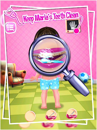 Baby Doctor Maria Surgery Game