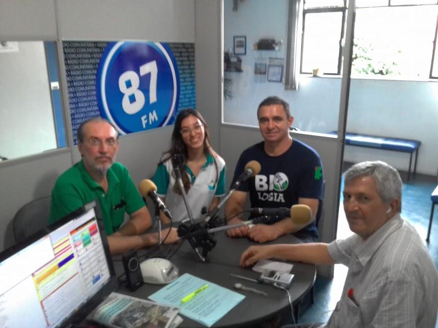 Prof. Cássio Monteiro, Gabriela De Paula, Luciano Dos Reis e Jota Araújo
