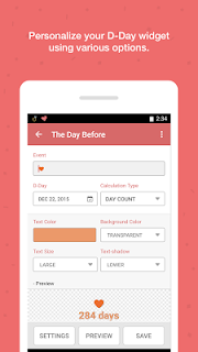 TheDayBefore (D-Day widget) screenshot 04