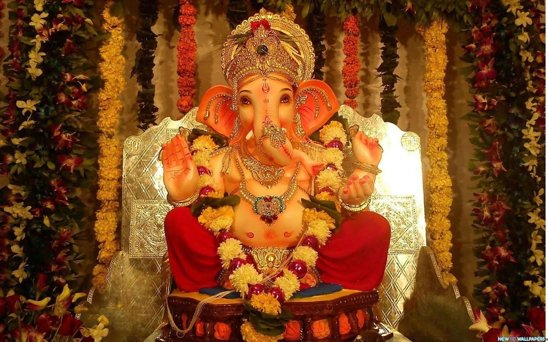 Hd wallpaper ganesh - Ganesh Chalisa Aarti Wallpaper Screenshot