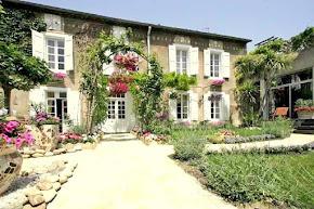 Classic 19th Century Maison Demaître in Languedoc Village in herault